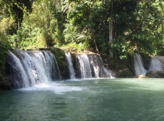 Cambugahay waterfall