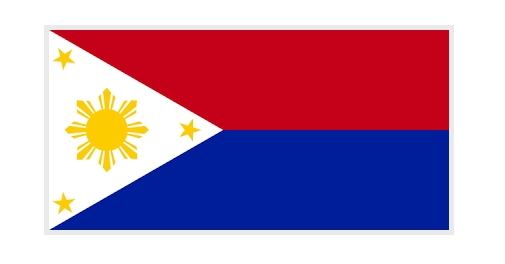 Philippines Flag in Wartime