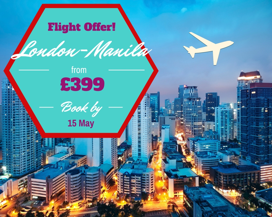Flights London-Manila