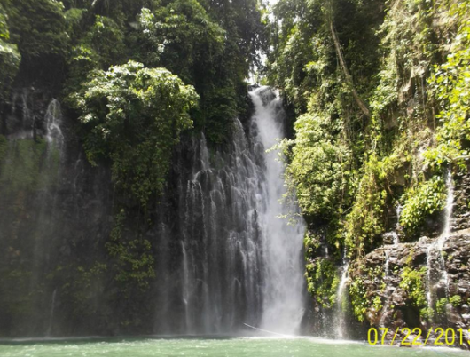 Tinagu falls